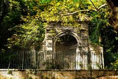 Ogród Botaniczny (Orto Botanico), Trastevere, Rzym, Włochy Zdjęcia Stock