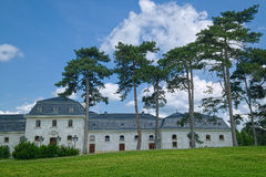 Ogród Festetics pałac w Keszthely miasteczku, Węgry obrazy stock