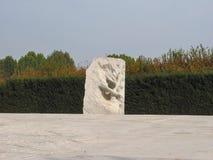 Ogród fluid rzeźby Penone w Venaria zdjęcia royalty free