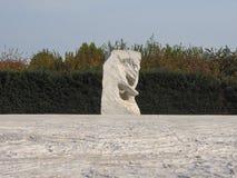 Ogród fluid rzeźby Penone w Venaria zdjęcie stock