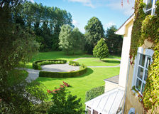Ogród Killarney hotel Obraz Royalty Free