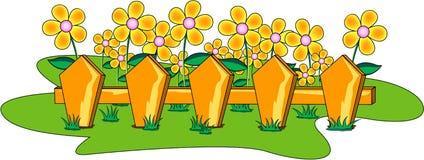 ogród kwiatów Royalty Ilustracja