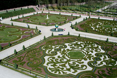 ogród pałacu kibla t Zdjęcia Royalty Free