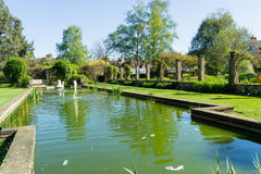 ogród pełnometrażowa woda Obrazy Royalty Free