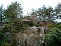 Ogród pod niebem Zdjęcie Royalty Free