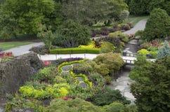 ogród projektu ogrody Hamilton nowej Zelandii Zdjęcie Royalty Free