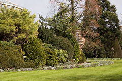 ogród projektu ogrody Hamilton nowej Zelandii Wiosna park w Leuven Flandryjski, Belgia 1 Fotografia Stock