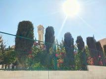 Ogród przy Amman, Jordan obraz royalty free