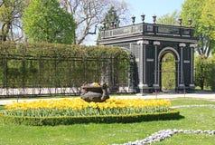 Ogród przy Schonbrunn pałac w Wiedeń, Austria Obraz Royalty Free