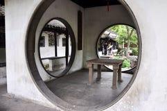 Ogród przy SuZhou fotografia stock