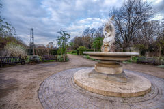Ogród różany w Hyde parku Zdjęcia Royalty Free