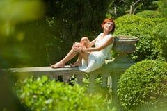 ogród relaksuje Zdjęcia Stock