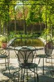 ogród relaksuje Obrazy Stock