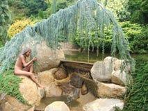 Ogród sen fotografia royalty free