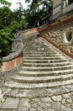 ogród stare schody nieruchomości Obrazy Royalty Free