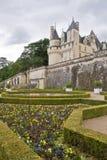 ogród usse zamku Obrazy Royalty Free