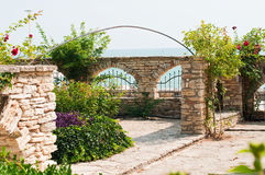 Ogród w Balchik Zdjęcia Royalty Free