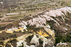 Ogród w dolinnym Cappadocia Zdjęcia Royalty Free