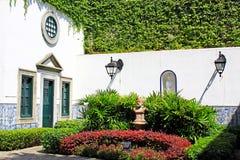 Ogród W Obywatelskich i Miejskich sprawach biuro, Macau, Chiny obraz royalty free