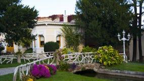 Ogród Yildiz pałac Obraz Royalty Free