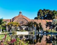 Ogródu Botanicznego odbicie w balboa parku fotografia royalty free