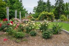 Ogródu Różanego podwórze obrazy royalty free