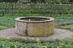 Ogródu well Fotografia Royalty Free