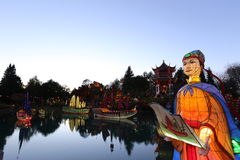 Ogródy chińczyka ogród Obraz Royalty Free