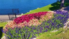 Ogródy na Kierowej wyspie w Aleksandria zatoce NY fotografia stock