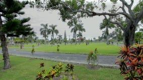Ogródy nawadniają świątynię w Bali zdjęcie wideo