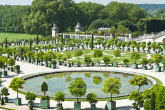 Ogródy pałac Versailles Fotografia Stock