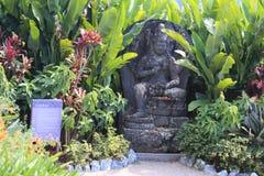 Ogródy przy Crustal kasztelem zdjęcie stock