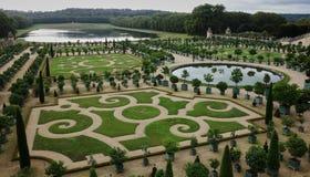 Ogródy przy kasztelem Versailles Zdjęcie Royalty Free