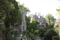 Ogródy Quinta De Regaleira w Sintra zdjęcia royalty free