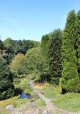 Ogródy, St Andrews ogród botaniczny, St Andrews Obraz Stock