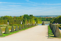 Ogródy Versailles Fotografia Stock