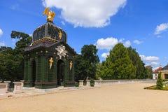 Ogródy w Białostockim zdjęcia stock