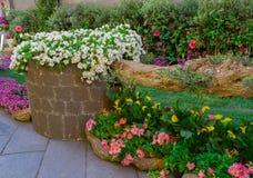 Ogródy w mieście Zdjęcia Royalty Free