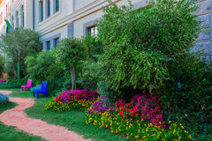 Ogródy w mieście Obraz Stock