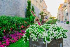 Ogródy w mieście Obraz Royalty Free