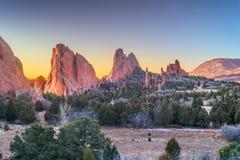 Ogr?d b?g, Colorado Springs, Kolorado obraz royalty free