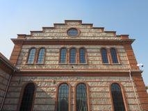 OGR (Officine Grandi Riparazioni) train repair shop in Turin Royalty Free Stock Photos