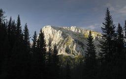 Ogradi (2087) nelle alpi di Julien in Slovenia Fotografia Stock