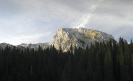Ogradi (2087) nelle alpi di Julien in Slovenia Fotografia Stock Libera da Diritti