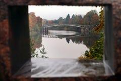 Ogre ποταμός στην πόλη Ogre, Latvija Στοκ φωτογραφίες με δικαίωμα ελεύθερης χρήσης