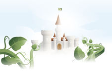 Ogre castle close up Royalty Free Stock Images