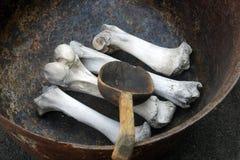 Ogre cauldron Royalty Free Stock Image