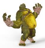 Ogre 3D Illustration Stock Images