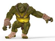 Ogre 3D Illustration Royalty Free Stock Images