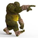 Ogre 3D Illustration Stock Image